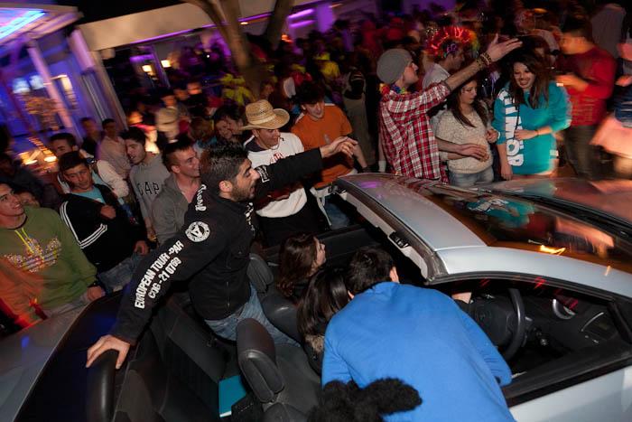 Ночной карнавал в 2012 году в Лимассоле