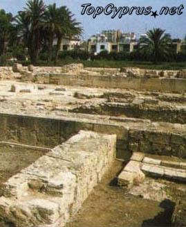 Руины финикийского Китиона