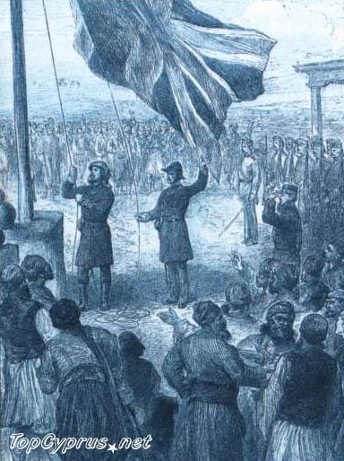 История Кипра. Британское правление и независимость