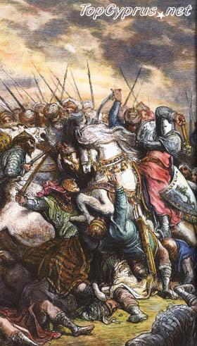 Ричард Львиное Сердце завоевывает Кипр